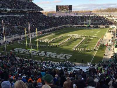 Spartan Stadium, section: 14, row: 56, seat: 24