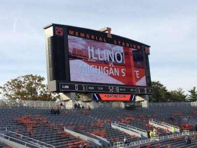 Memorial Stadium (Champaign), section: 109, row: 32, seat: 20