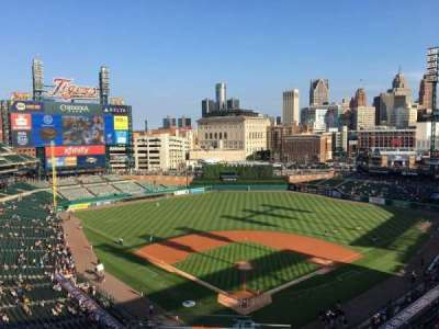 Comerica Park, section: 327, row: 13, seat: 23