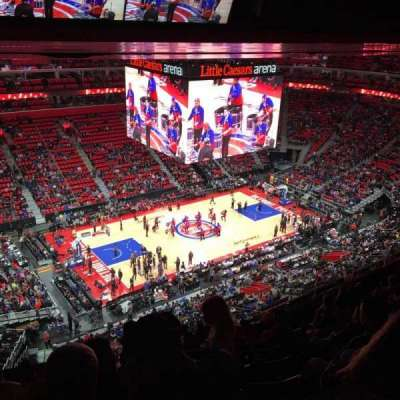 Little Caesars Arena, section: 229, row: 8, seat: 22