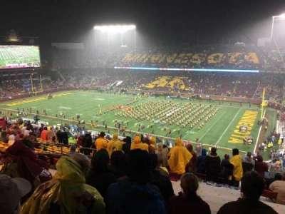 TCF Bank Stadium, section: 236, row: 22, seat: 14
