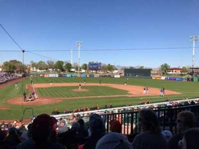 Scottsdale Stadium section 306