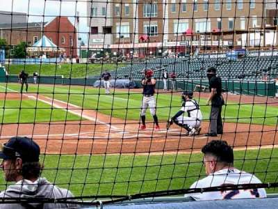 Bowling Green Ballpark, section: 113, row: D, seat: 1