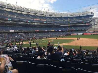Yankee Stadium section 114b