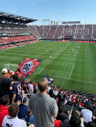 Audi Field section 135