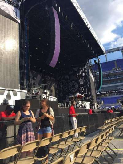 M&T Bank Stadium, section: A5, row: 3, seat: 13