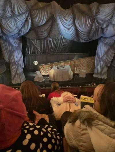 Majestic Theatre, section: Front Mezzanine C, row: D, seat: 102