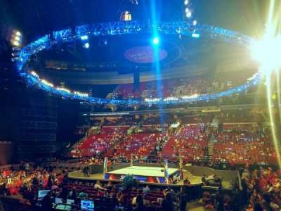 Wells Fargo Center, section: 102, row: 11, seat: 8