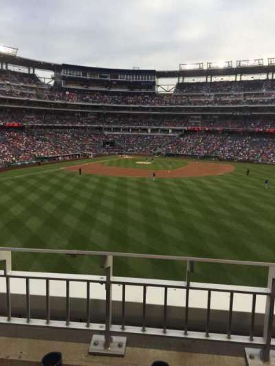 Nationals Park, section: 242, row: B, seat: 22
