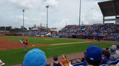 Tradition Field, section: 112, row: E, seat: 3-4
