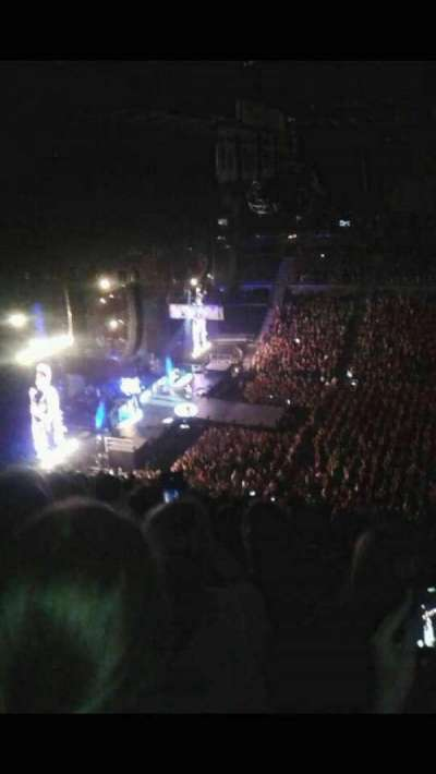The Palace of Auburn Hills, section: 201, row: 16, seat: 3