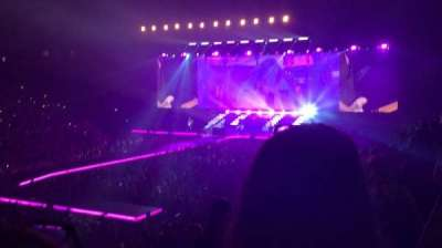 AO Arena, section: 112, row: P, seat: 10