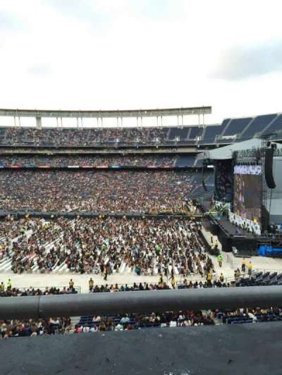 Qualcomm Stadium, section: C39, row: 1, seat: 10