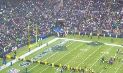 Centurylink Field, section: 309, row: 4, seat: 7