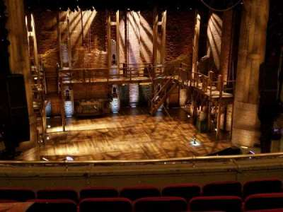 PrivateBank Theatre, section: Mezzanine, row: F, seat: 317