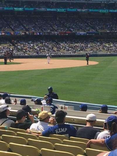 Dodger Stadium section 44FD