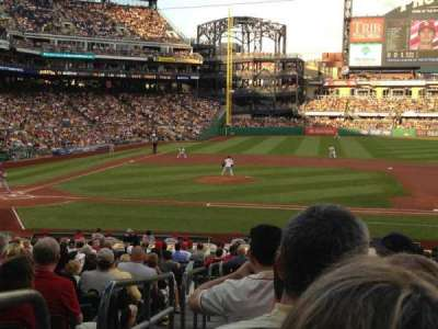 PNC Park, section: 110, row: S, seat: 16