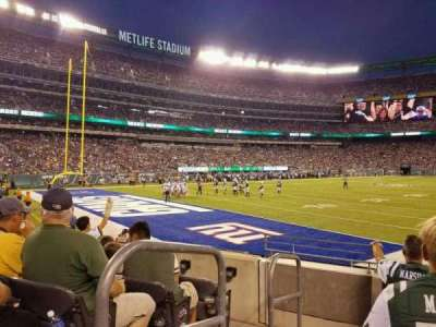 MetLife Stadium, section: 146, row: 7, seat: 9