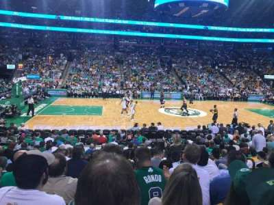 TD Garden, section: Loge 13, row: 13, seat: 5