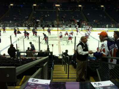 Nationwide Arena section 114