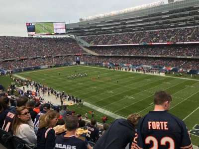 Soldier Field, section: 331, row: 7, seat: 13