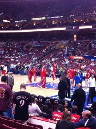 Wells Fargo Center, section: 103, row: 7, seat: 12