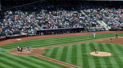 Citi Field, section: 309, row: 1, seat: 12