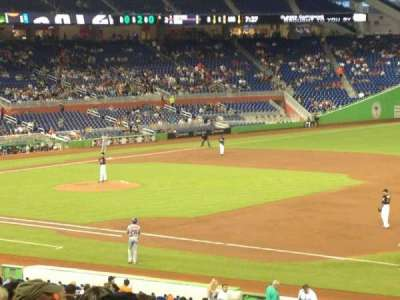 Marlins Park, section: 6, row: 18, seat: 4