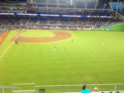 Marlins Park, section: 140, row: 7, seat: 21