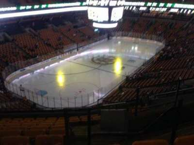 TD Garden, section: Bal 306, row: 10, seat: 3
