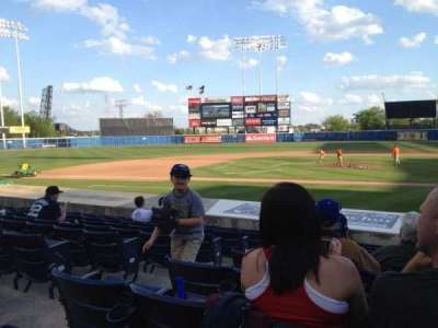 Harbor Park, section: 105, row: M, seat: 14
