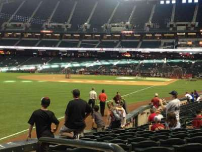 Chase Field section 136