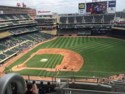 Target Field, section: 307, row: 7, seat: 21