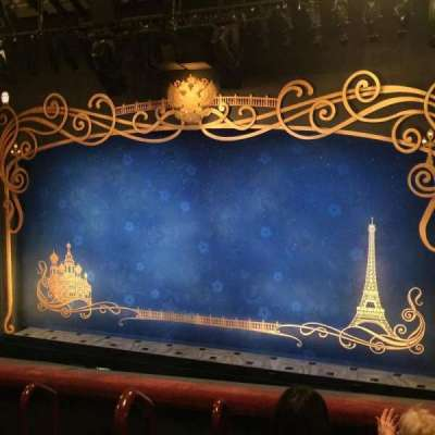 Broadhurst Theatre, section: Mezzanine Right, row: D, seat: 2-4