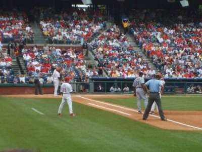 Citizens Bank Park, section: 109, row: 10, seat: 15