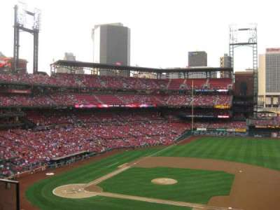 Busch Stadium, section: 242, row: 3, seat: 6