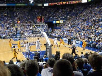 Rupp Arena, section: 23, row: OO, seat: 7
