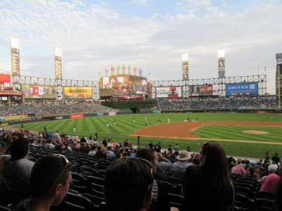Guaranteed Rate Field, section: 138, row: 30, seat: 2