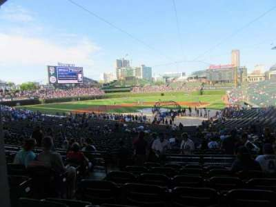Wrigley Field, section: 219, row: 7, seat: 3