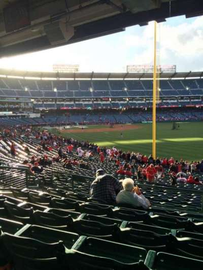 Angel Stadium, section: T231, row: F, seat: 20