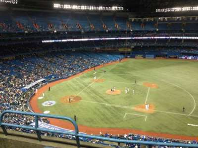 Rogers Centre, section: 518R, row: 3, seat: 3