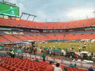Hard Rock Stadium, section: 142, row: 14, seat: 1