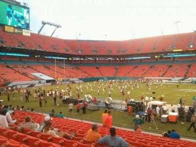 Hard Rock Stadium, section: 114, row: 14, seat: 1
