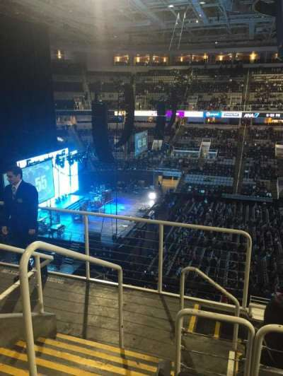 SAP Center at San Jose, section: 215, row: 5, seat: 24