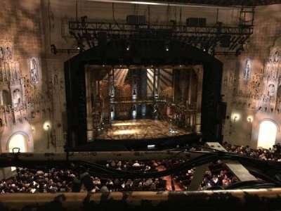 Orpheum Theatre (San Francisco), section: Balcony, row: A, seat: 109
