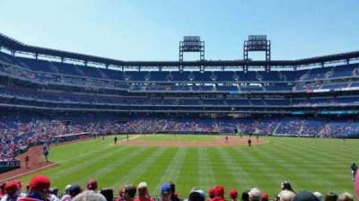 Citizens Bank Park section 105