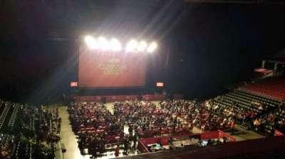 Liacouras Center, section: 209, row: A, seat: 6