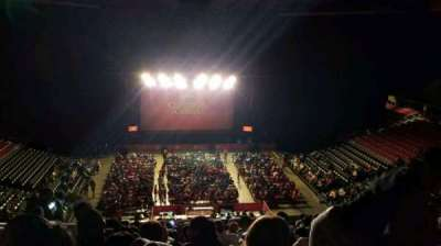 Liacouras Center, section: 208, row: M, seat: 19