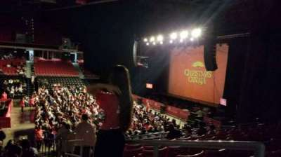 Liacouras Center, section: 107, row: T, seat: 1