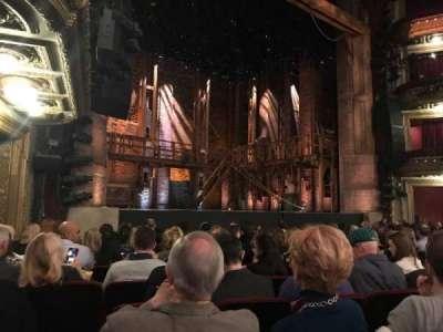 CIBC Theatre, section: Orchestra L, row: L, seat: 19